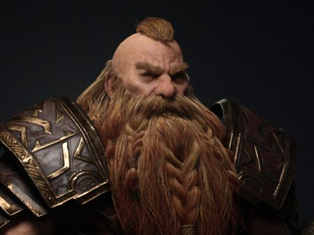 UNREAL ENGINE Dwarf Game Character