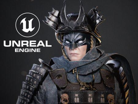 Batman Samuraï fan art - Real time Character