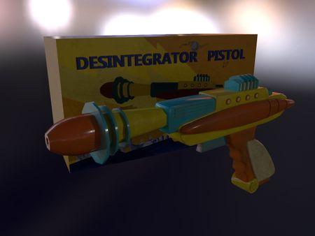 3D Desintegrator Pistol