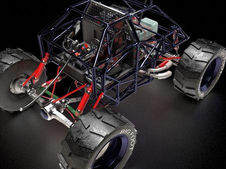 the Car - Monster truck