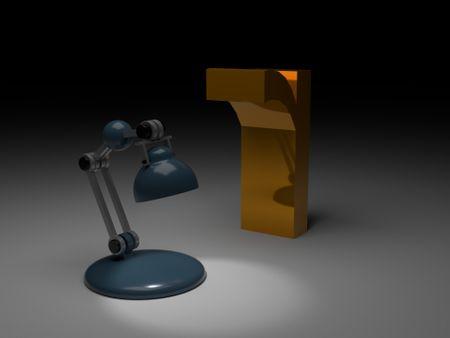 3d Lamp Animation