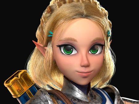 Zelda 3D Artwork 35 Aniversary