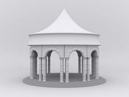 Medieval Pagoda