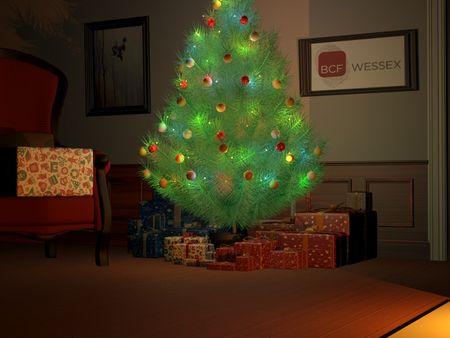 BCF Wessex Christmas E-Card