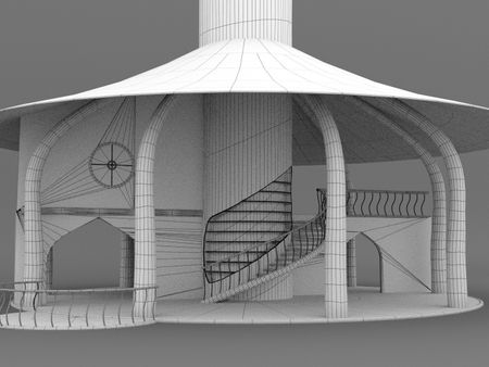 FMP Elvish Treehouse Interior Breakdown