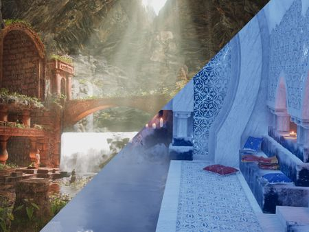 Environments made in Unreal