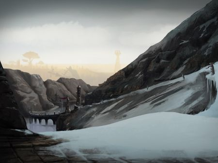 Digital Matte Painting - Animated Environment