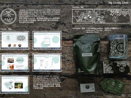 Branding:Herbal Elements