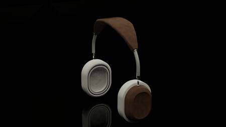 Boom Boom strap headphones.