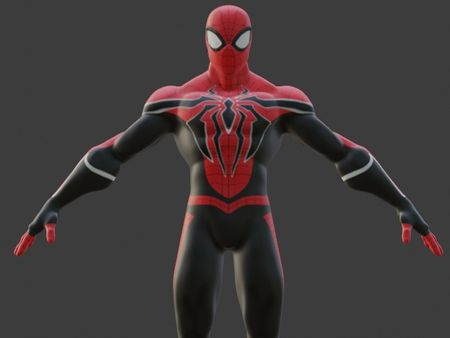 Spider-Man 3D for animations