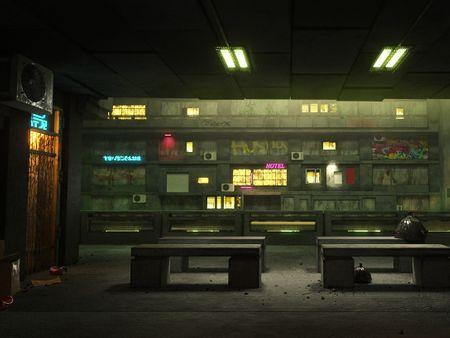 Dredd (2012) Environment Fan Art