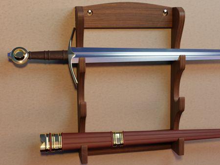 Medieval Knight's Sword