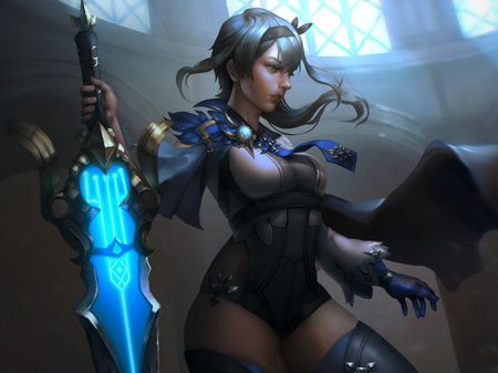 "Eula - ""Spindrift Knight """