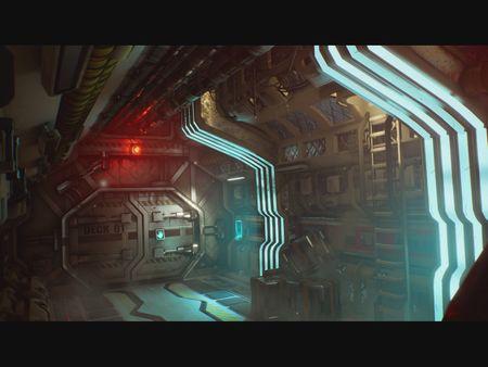 Sci-FI corridor (UE4)