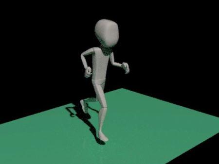 3D Model Running (CAT)