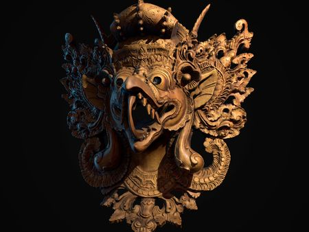 Thailand Mask made with Photogrammetry