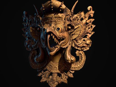 Thailand Mask made with Reality Capture (Photogrammetry)