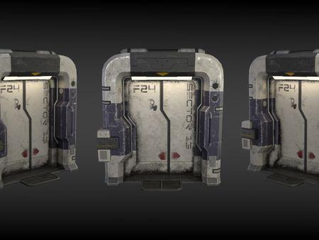 Sic-Fi Door