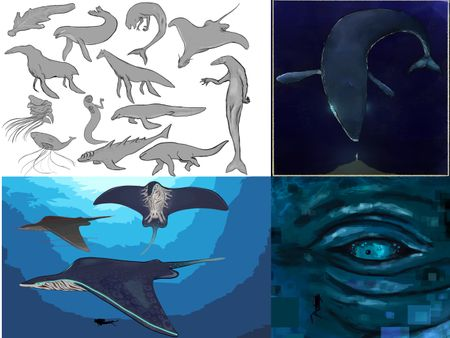 Underwater Creature - Weekly Drill