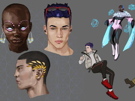 Character Concept Art and Story Telling