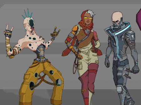 Oasis Character Lineup
