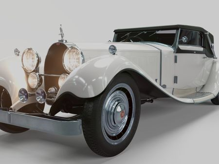 Bugatti Type 41 Royale Weinberger Cabriolet (1931)