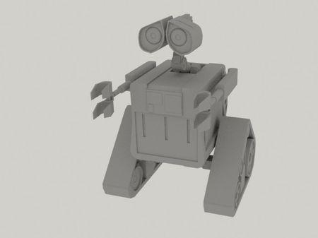 Wall-E Pre-vis