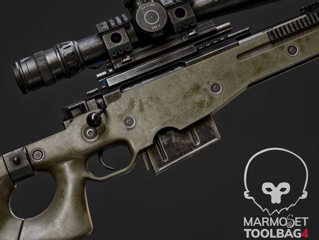 AWM-Game ready sniper