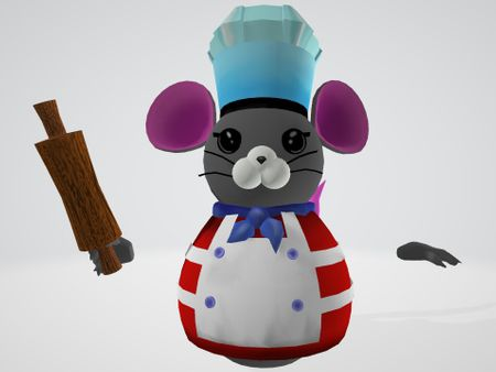 Overcooked mouse