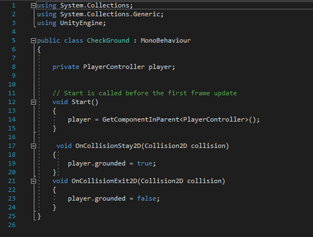 My game scripts