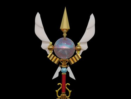 Atelier's wand
