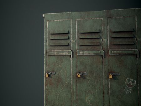 students lockers