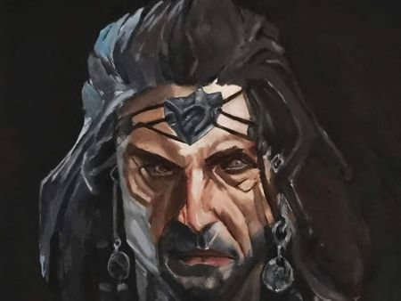 Portrait painting from the Dishonored series