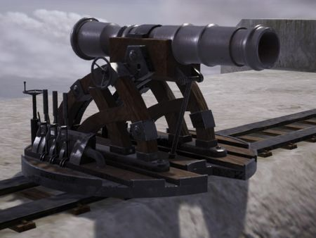 Wall Cannon Attack on Titan