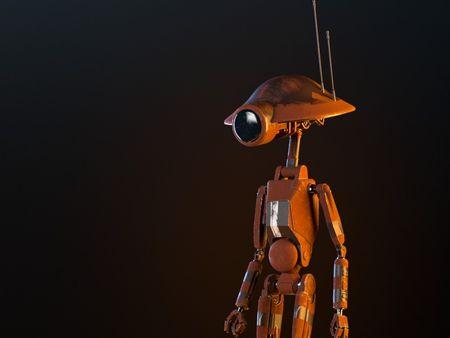 Pit Droid - The Mandalorian (Fan art)