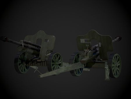German WW2 Artillery