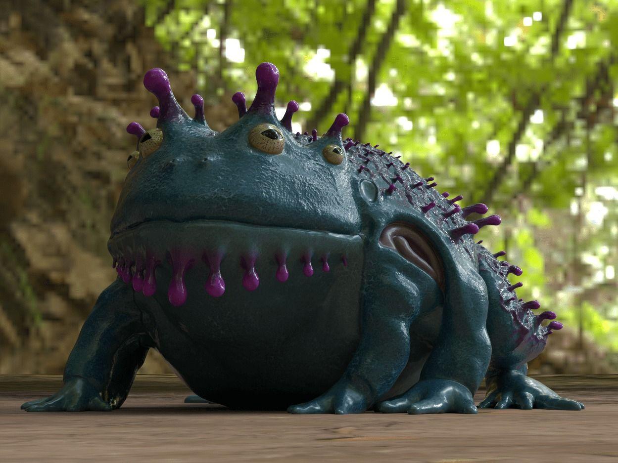 Bufonox Creature