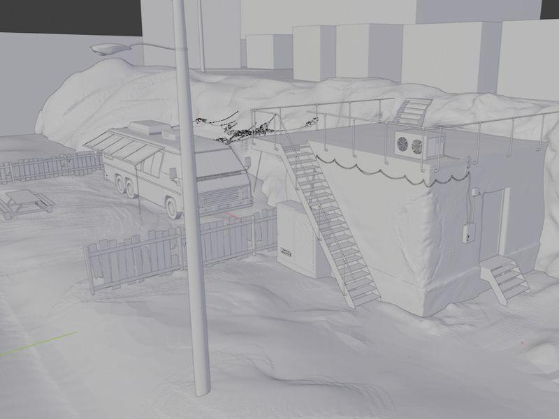 WIP - Trailer Park Environment