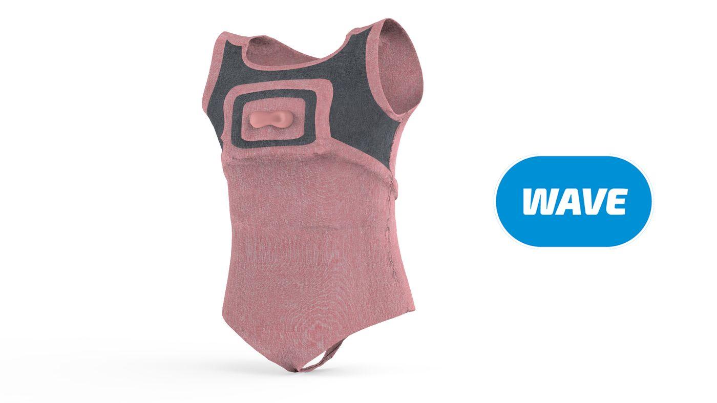 WAVE-Inflatable Swim Suit
