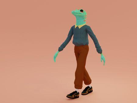A Happy Gecko