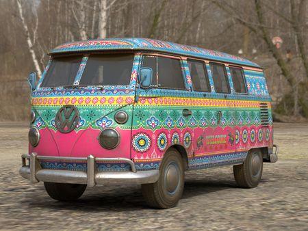 Indian Kombi Van