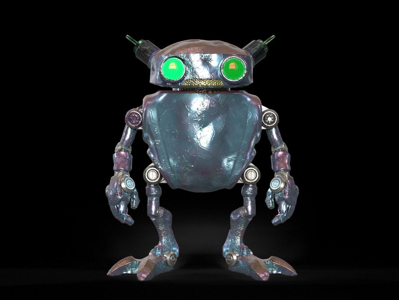 Eddie the robot Entry