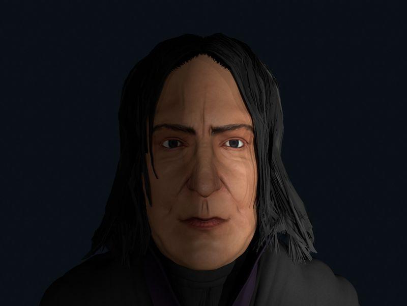 Professor Snape 3D Model