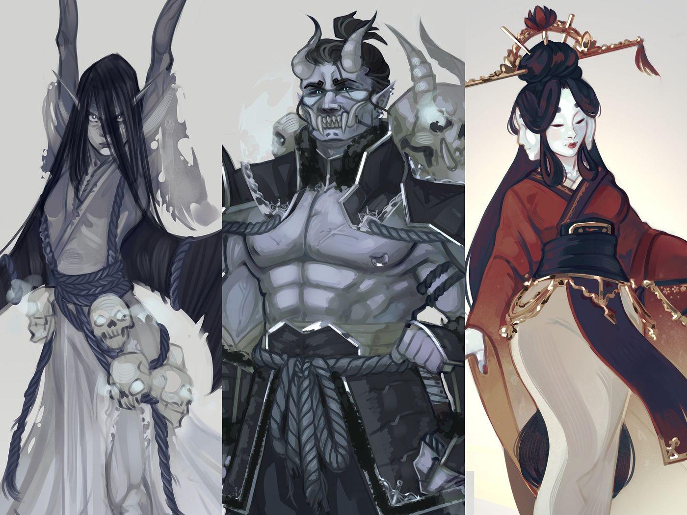 Character Design | Angels & Demons