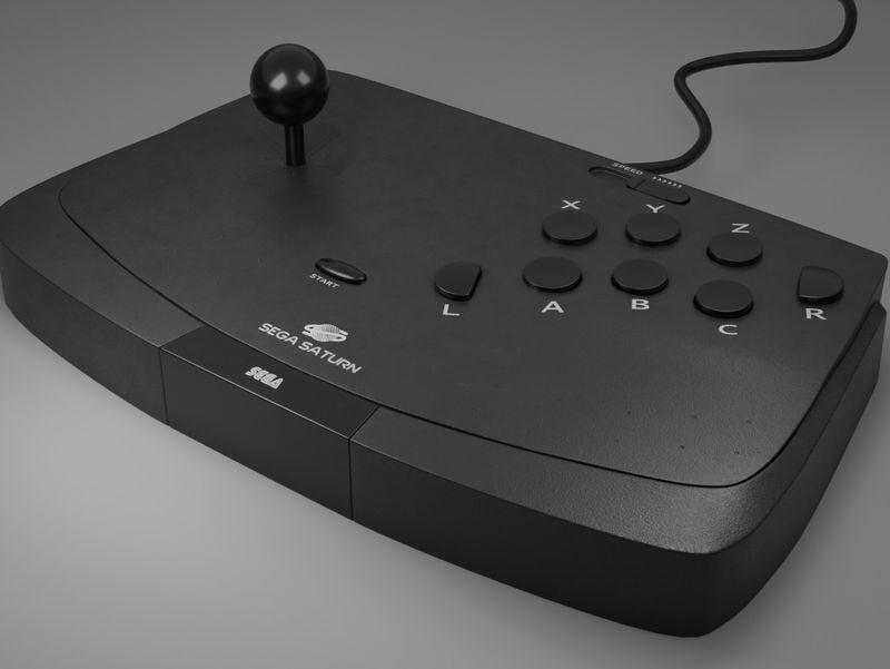 Sega Saturn Arcade Stick