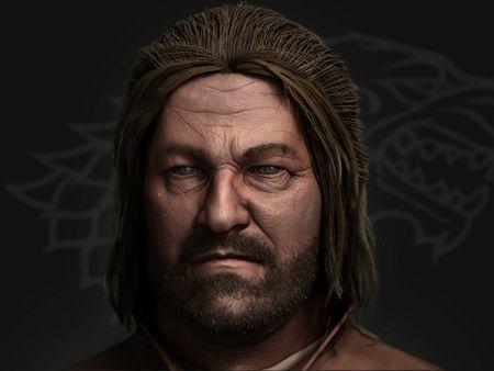 Portrait of Eddard Stark