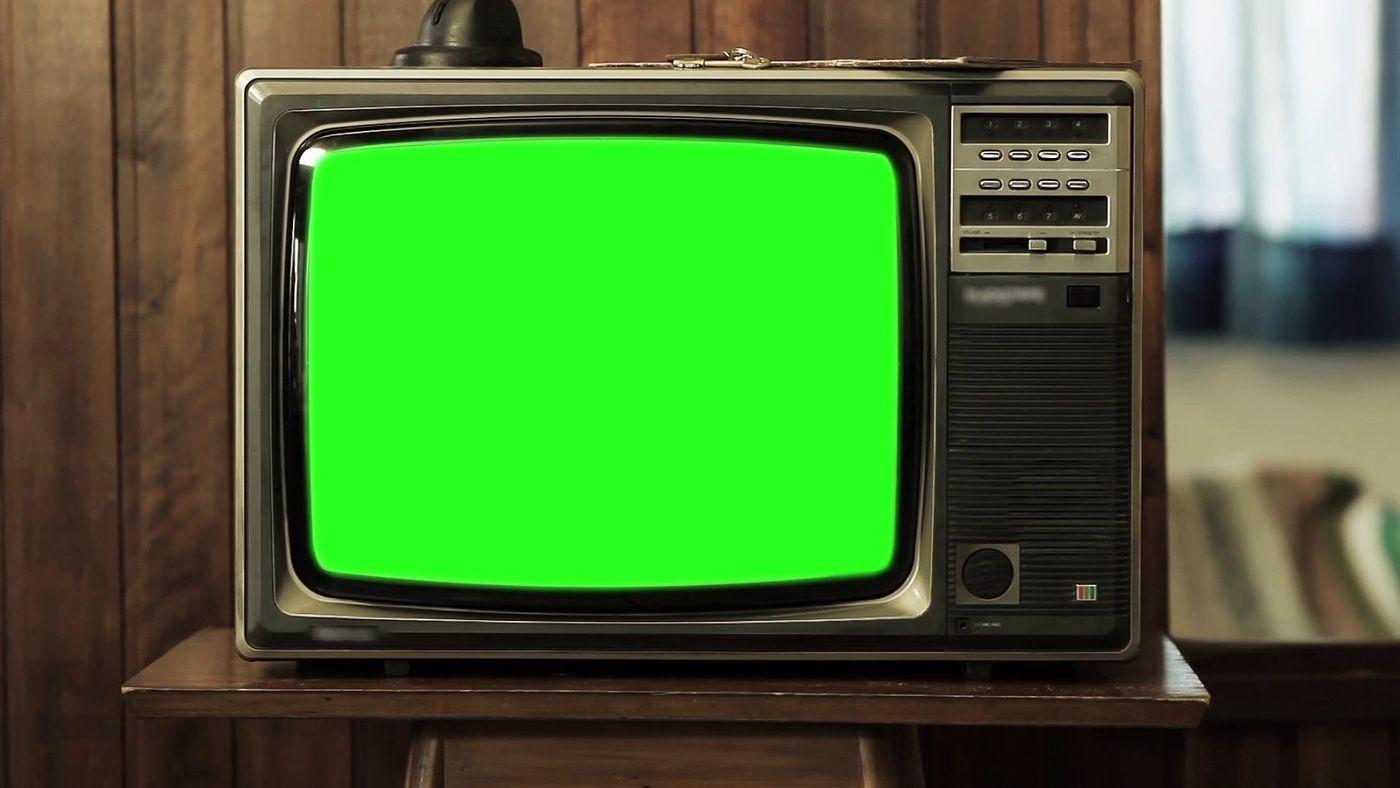 Old Retro Tv Green Screen Footage 086019540 Prevstill Aaronlelit