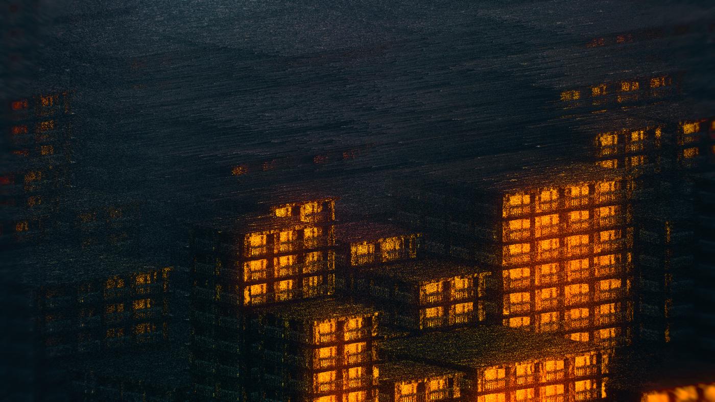 Les villes fantômes || Procedural city.