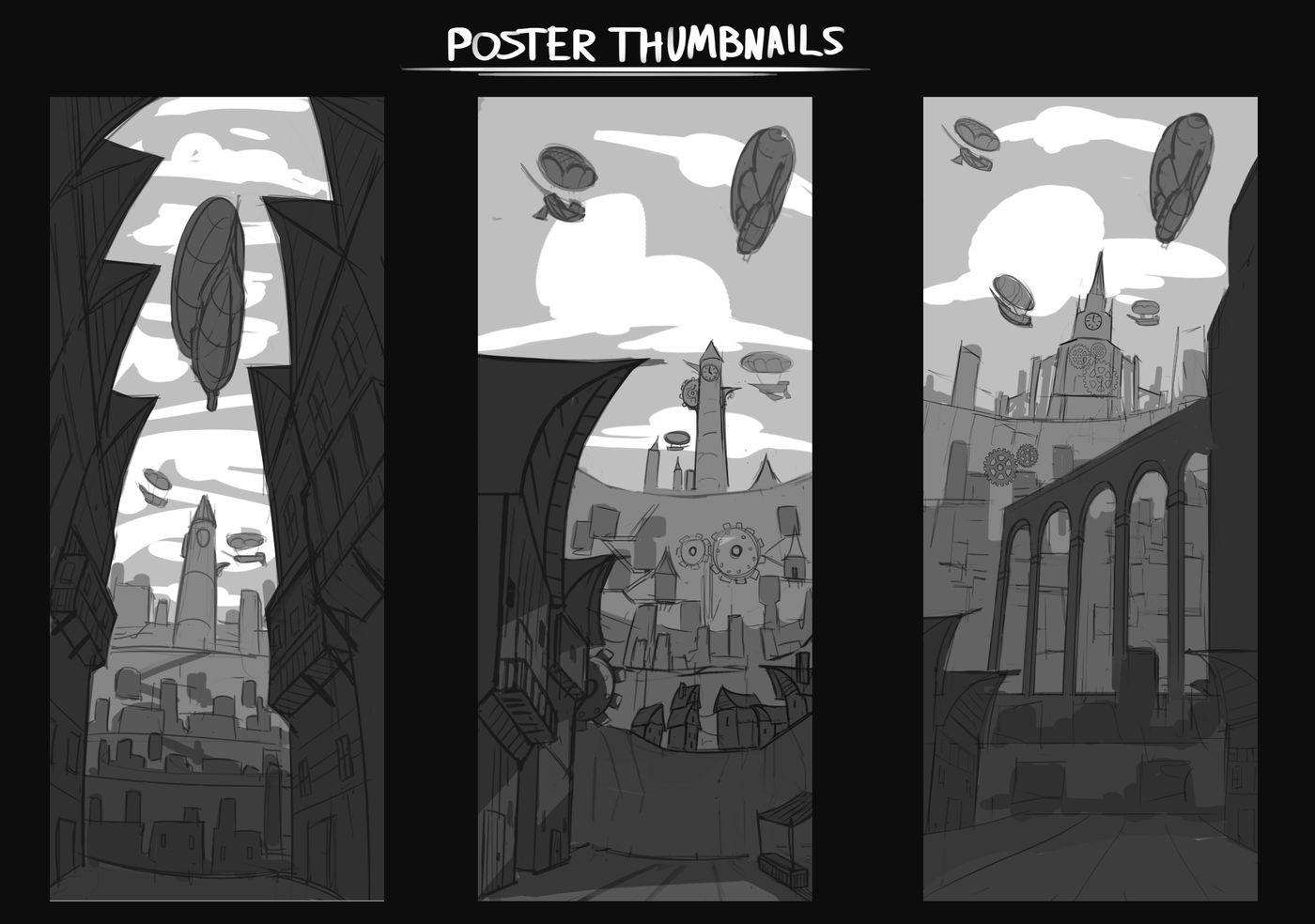 Poster Thumbnails Aaronprideaux