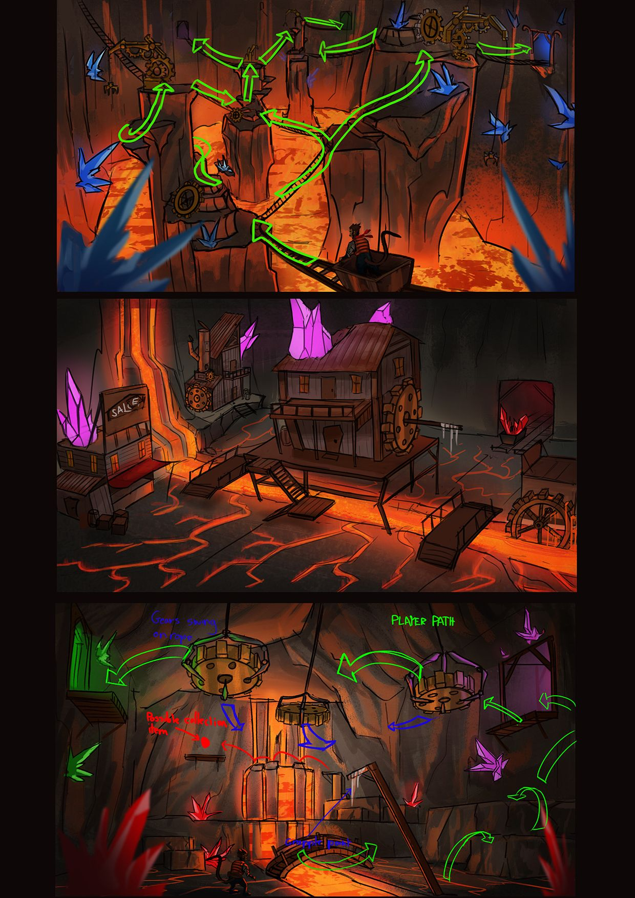 Lava Level Refined Thumbys Notes Aaronprideaux